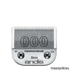 Andis - ostrze CeramicEdge nr 000 - 0,5 mm